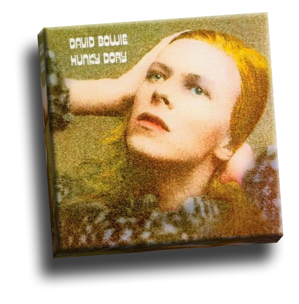 David Bowie - Hunky Dory Picture Framed Canvas Print | eBay
