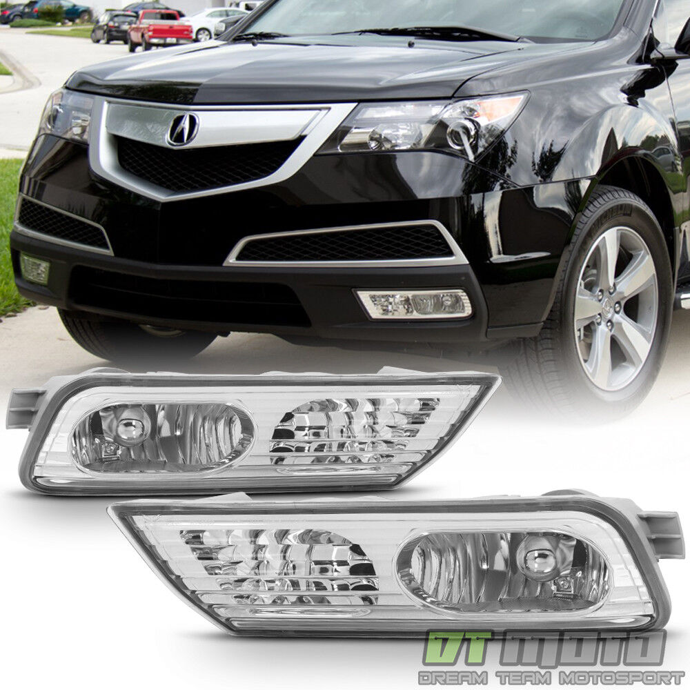 2007 2008 2009 Acura MDX Fog Lights Bumper Driving Lamps