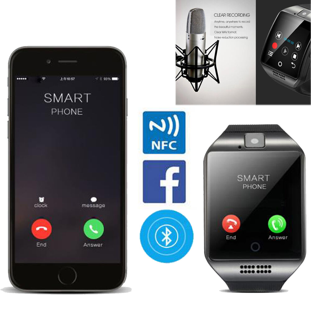Bluetooth Smart Watch Phone For Samsung Galaxy S7 S6 S5 LG ...