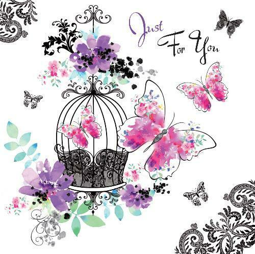 Le Chic Just For You Butterfly Design Modern Female Open