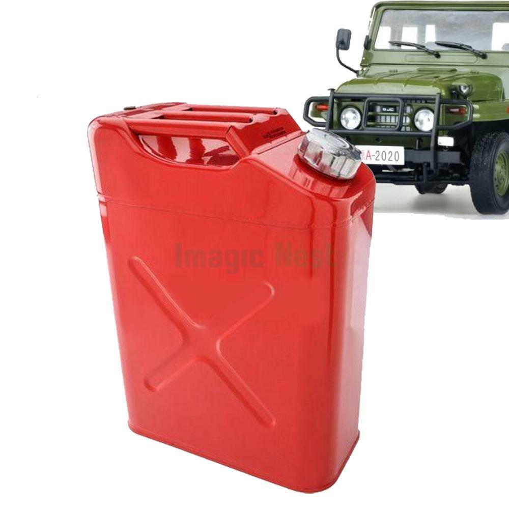 New l liter gallon jerry can steel tank fuel gas