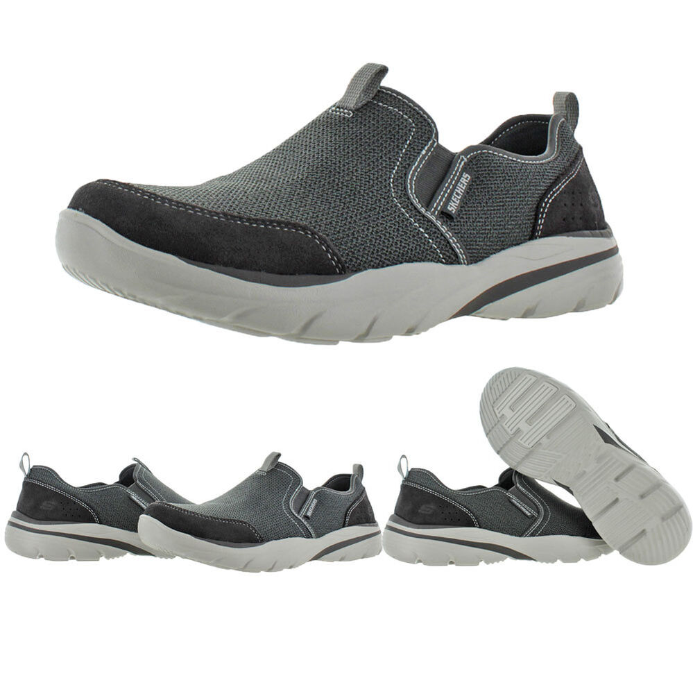 skechers relaxed fit corven s slip on shoes memory