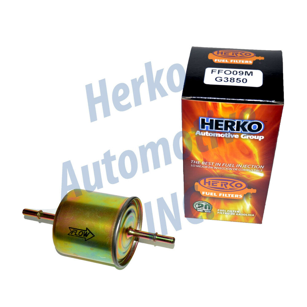 Mazda Fuel Filter Auto Electrical Wiring Diagram Luggage Rack 68000112 New Herko Ffo09m For Ford Mercury