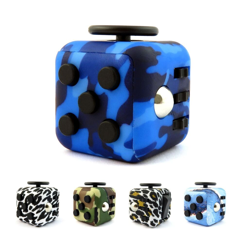 Stress Relief Toys : Fidget cube toy children desk adults stress relief