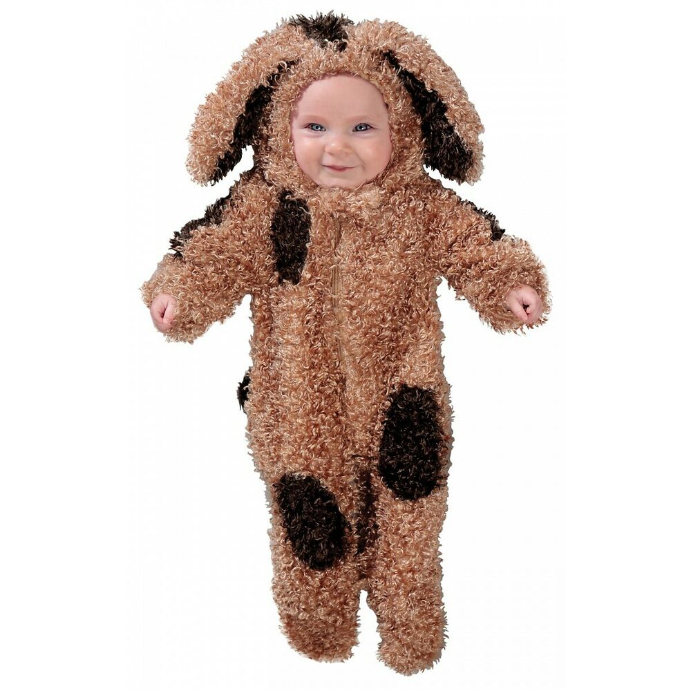 5a398e9f3f41 Details about Baby Puppy Dog Costume Newborn Infant Halloween Fancy Dress
