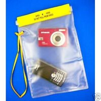 """Clear Waterproof Water Tight Dry Boating Kayaking Canoe Pouch Bag 7"""" X 10"""" Large"""