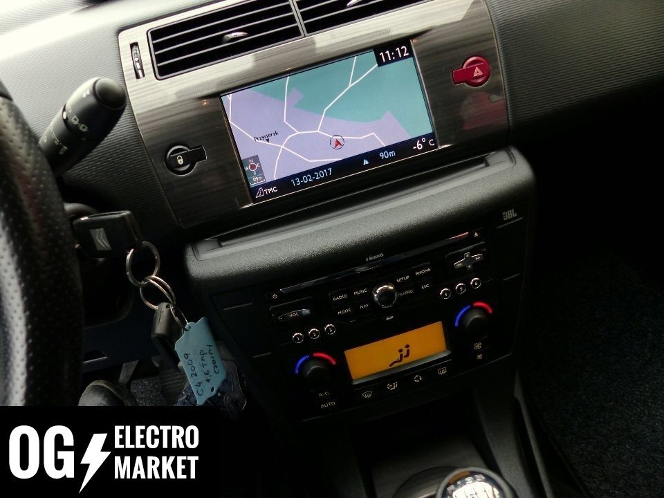 citroen c4 gps navigation system set radio sat nav rneg wip nav my way ebay. Black Bedroom Furniture Sets. Home Design Ideas
