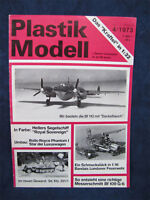 1973 Plastik Modell Plastic Model Hobby Magazine German