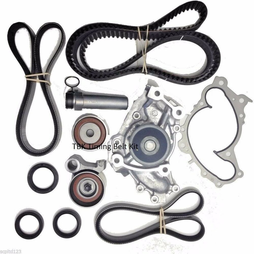 oem  genuine timing belt seal water pump bearing kit for toyota sienna 2004