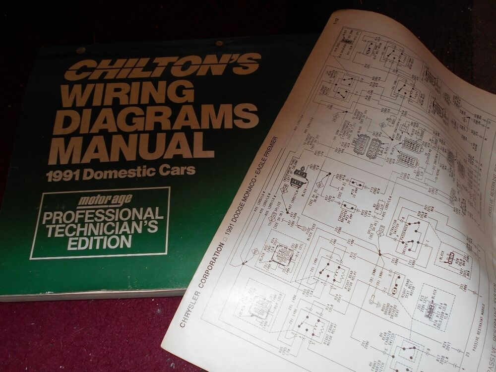 1991 Dodge Stealth Wiring Diagrams Schematics Manual