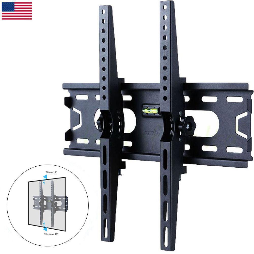 Tilt Tv Wall Mount Bracket 26 50 Plasma Flats Led Lcd For