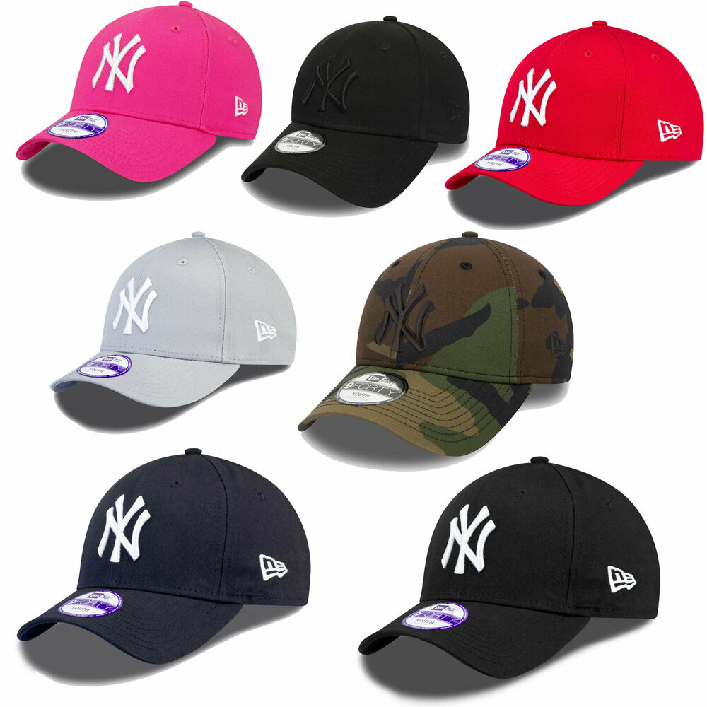 new era mlb 9forty kinder jugendliche cap new york yankees. Black Bedroom Furniture Sets. Home Design Ideas