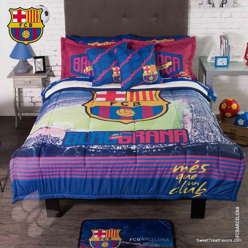 Fc Barcelona Bedding Twin