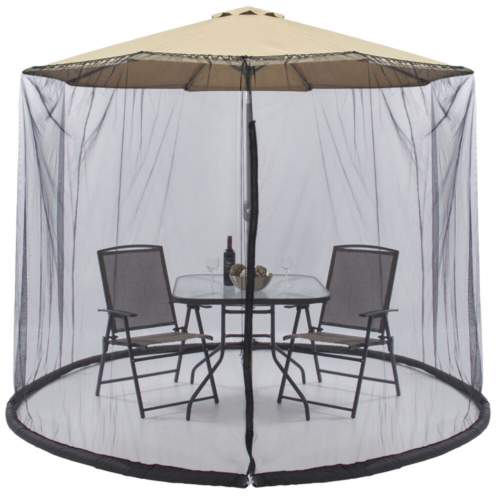 Best Choice Products Outdoor 9 Foot Patio Umbrella Screen