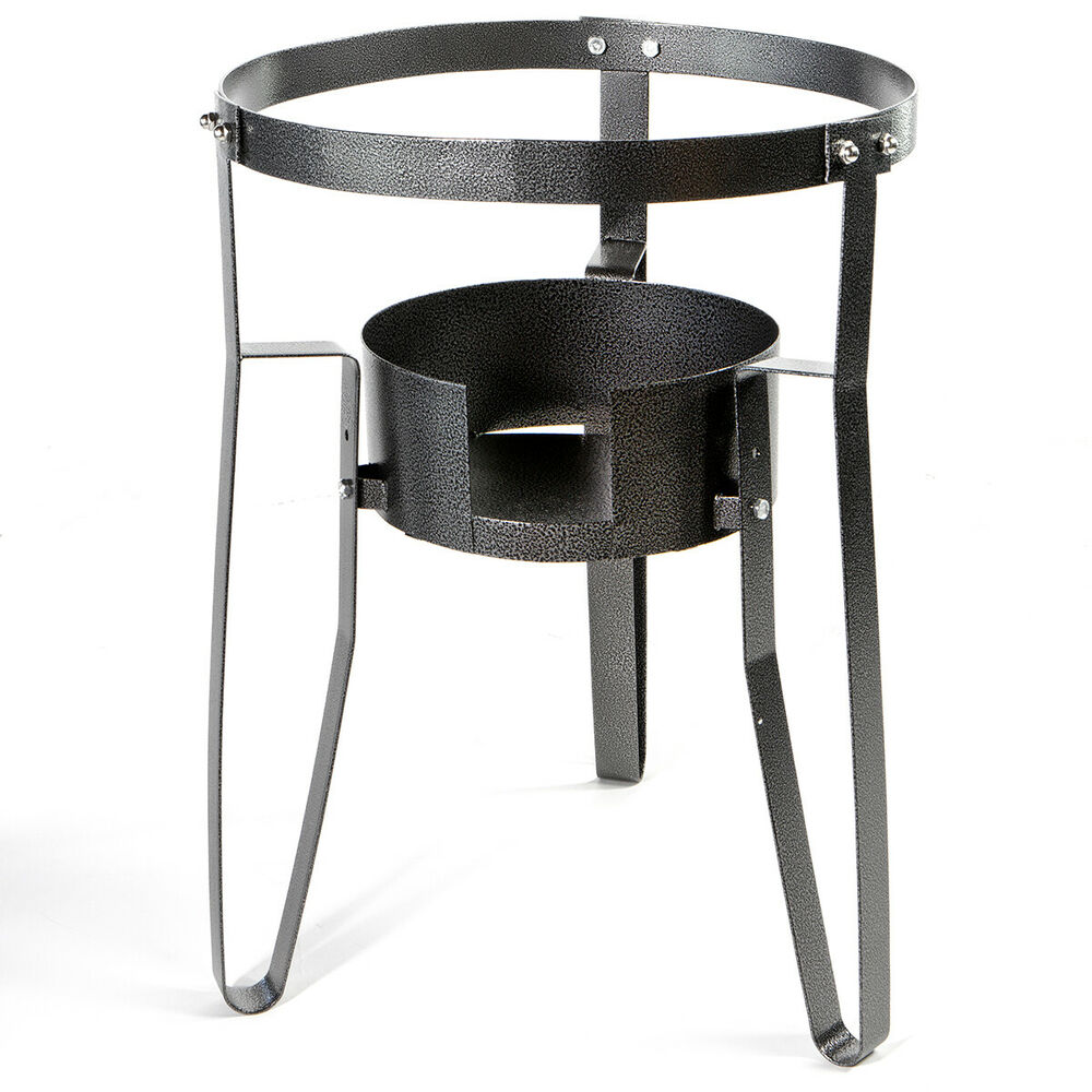 Single Portable Stove Propane Gas Burner Fryer Stand
