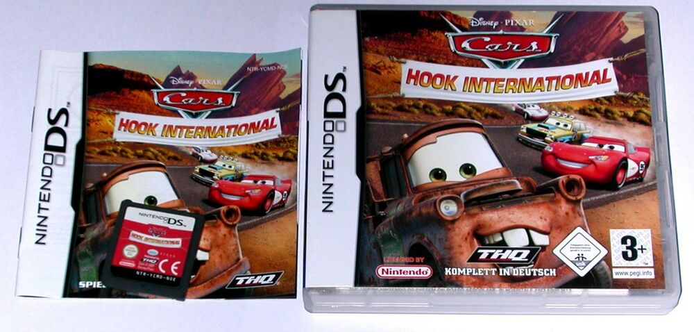 spiel disney s cars hook international f r nintendo ds lite xl 2ds 3ds ebay. Black Bedroom Furniture Sets. Home Design Ideas