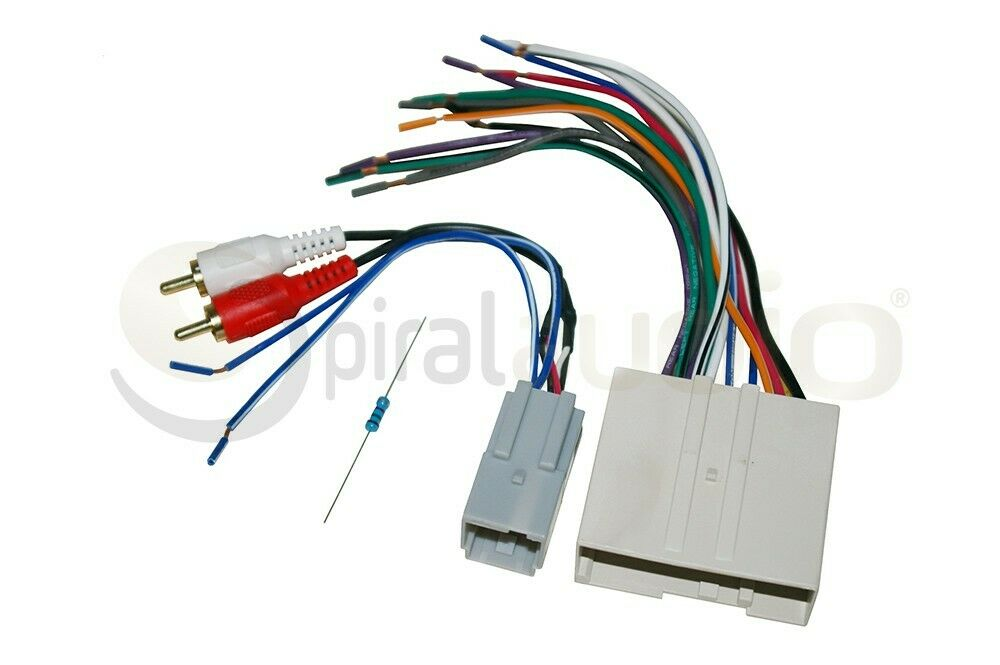Radio Stereo Wiring Harness Factory Subwoofer Integration