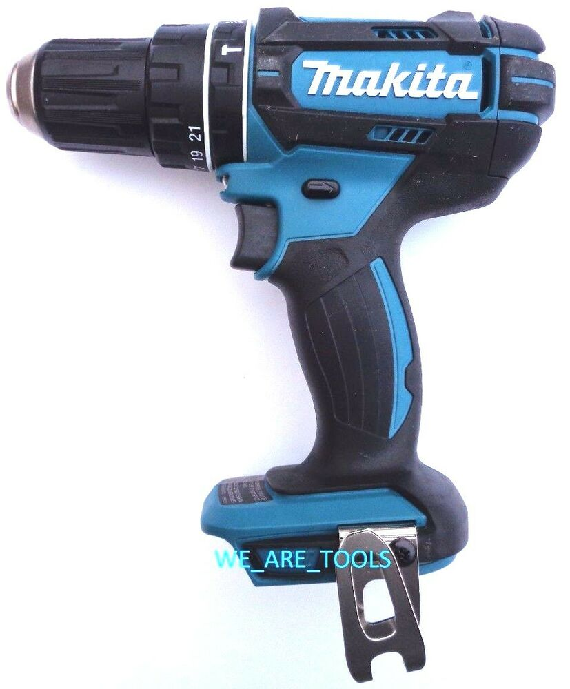 new makita 18v xph10 cordless 1 2 hammer drill 18 volt. Black Bedroom Furniture Sets. Home Design Ideas