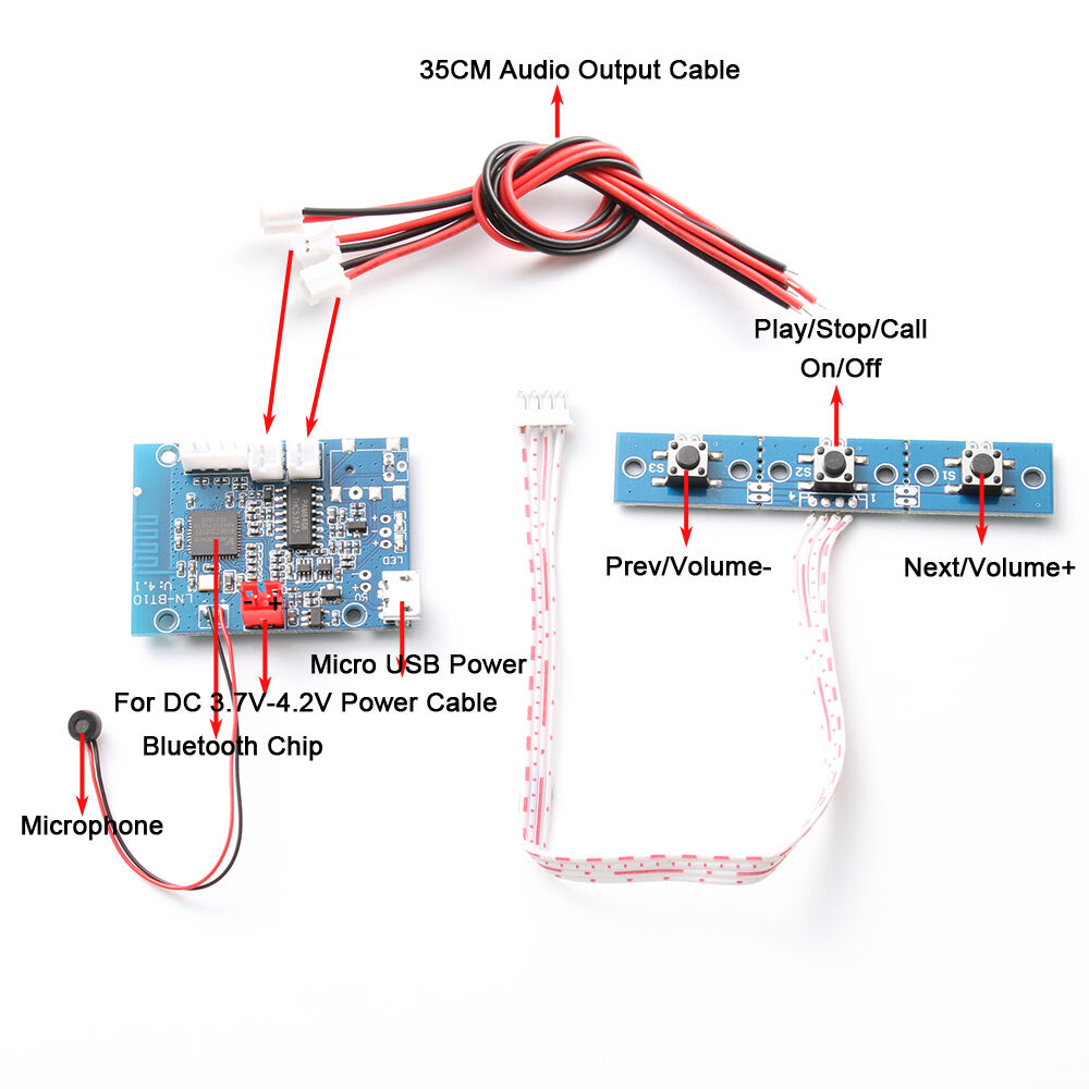 bluetooth audio receiver module amplifier board wireless