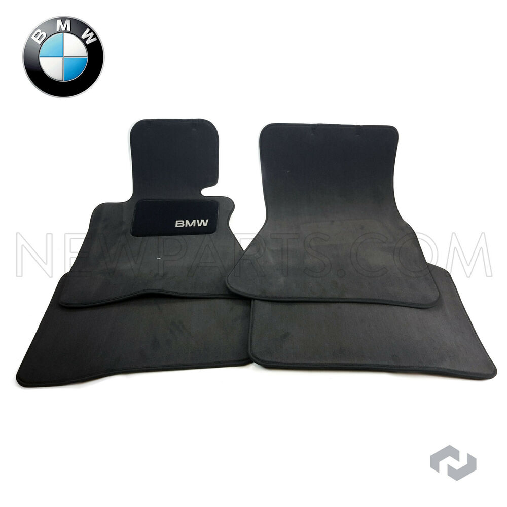 BMW E66 745Li 760Li Set Of 4 Front And Rear Carpeted Floor