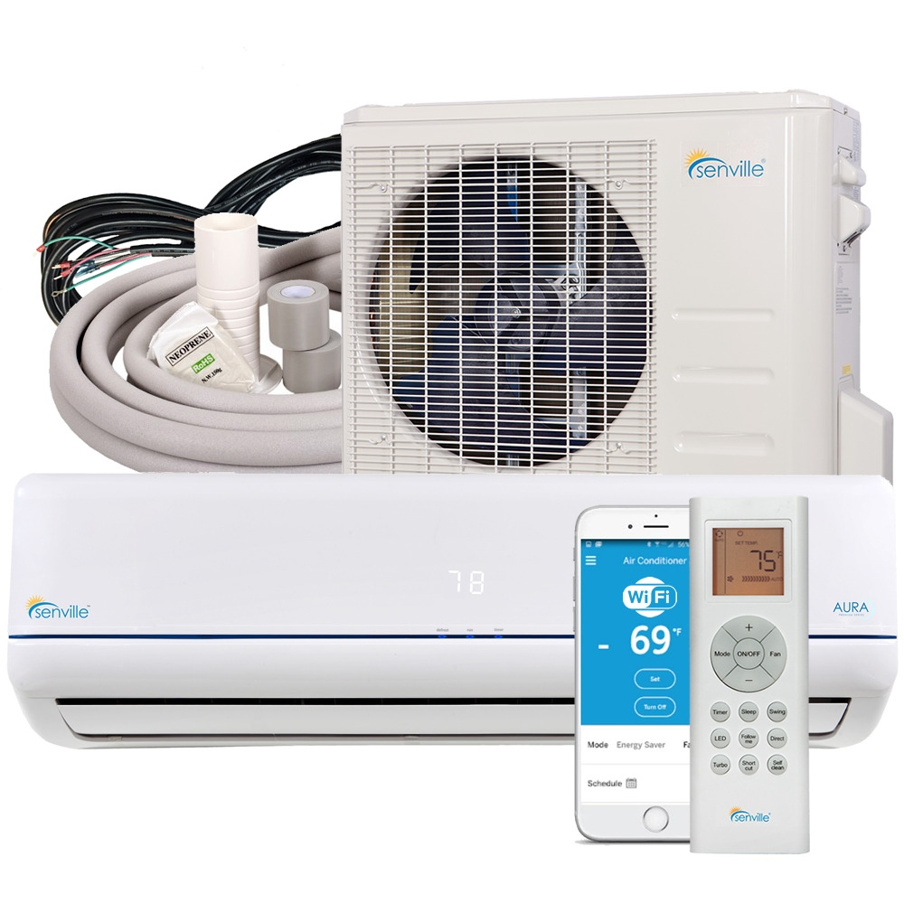 36000 BTU Ductless AC Mini Split Air Conditioner And Heat