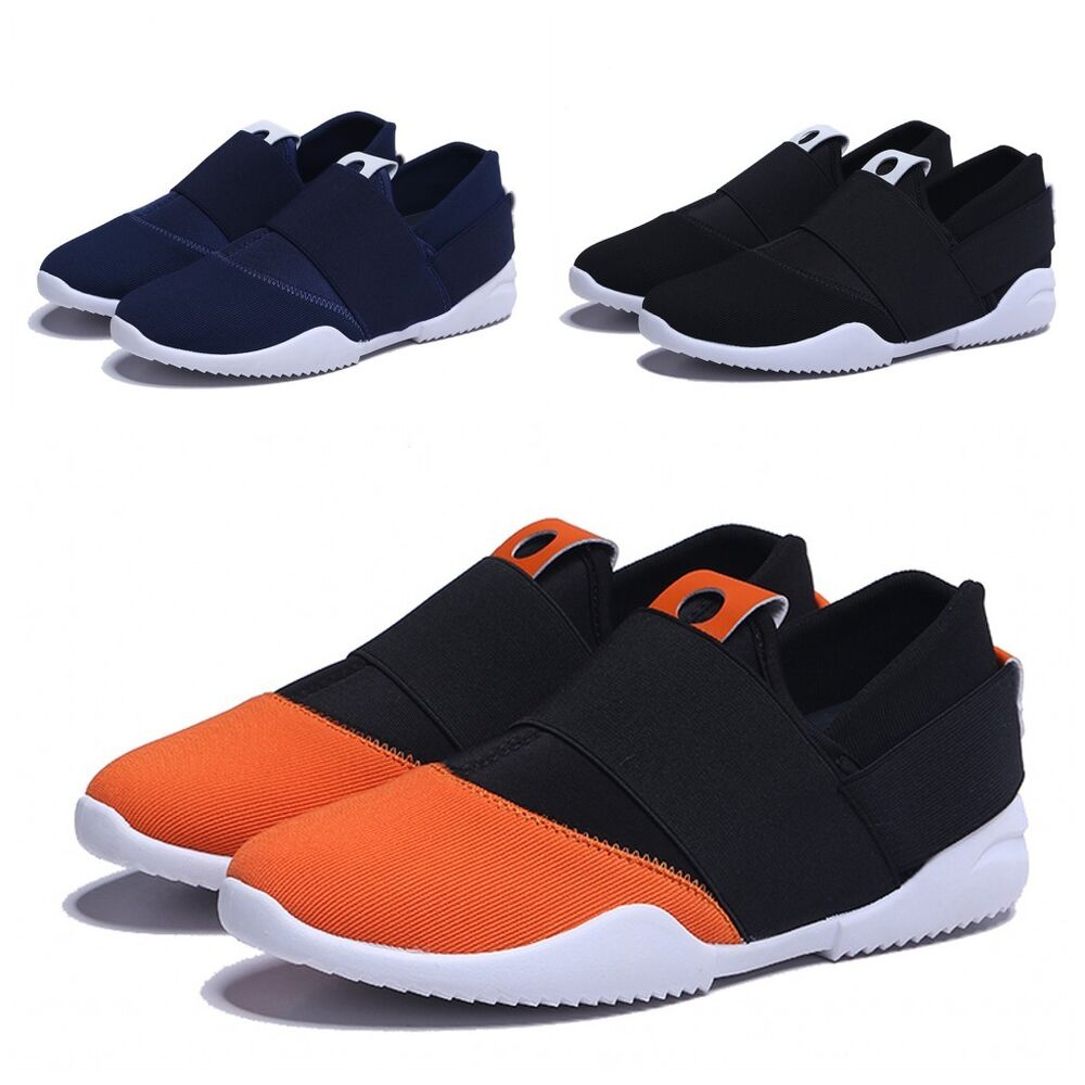 Lace Free Running Shoes