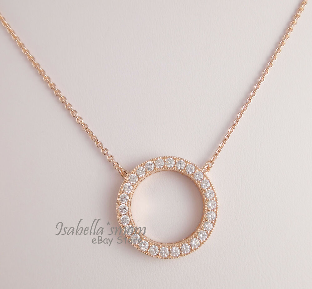 Genuine hearts of pandora necklace rose gold platedclear cz pendant genuine hearts of pandora necklace rose gold platedclear cz pendant chain new 5700302380576 ebay aloadofball Gallery
