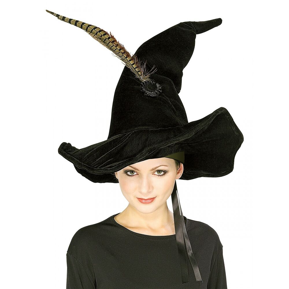 Professor McGonagall's Hat & Feather Adult Harry Potter Witch ...