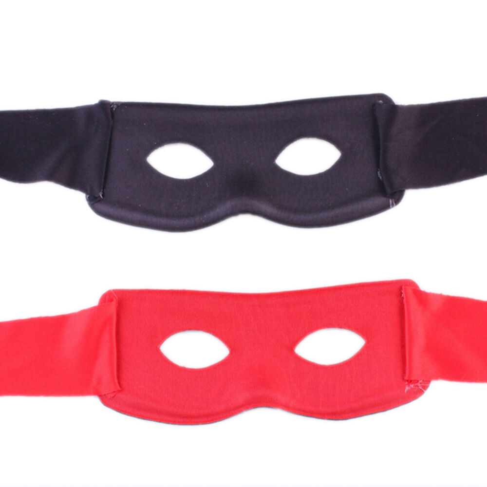 Bandit Zorro Masked Man Eyes Masks For Theme Party