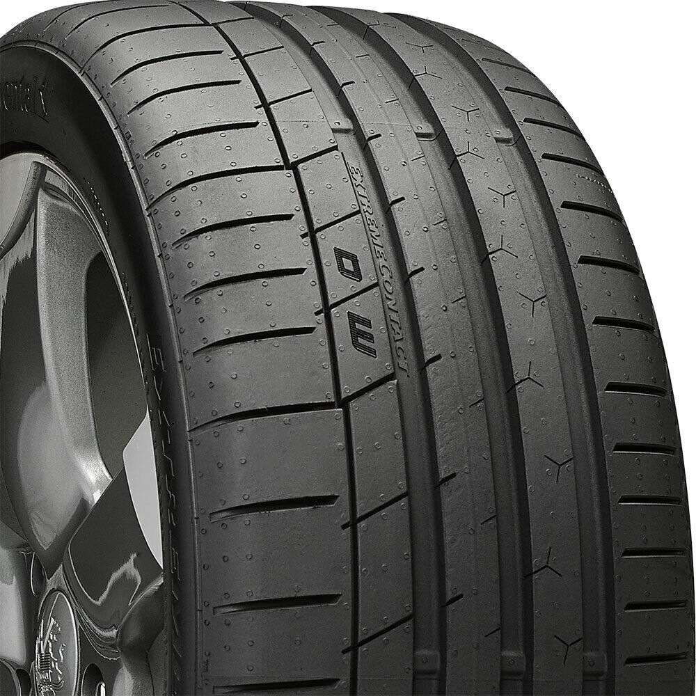 4 new 225 45 17 continental extreme contact sport 45r r17 tires 33435 ebay. Black Bedroom Furniture Sets. Home Design Ideas