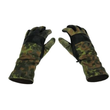 img-Flecktarn General Purpose Combat Gloves - Work Hard Wearing German Army Surplus