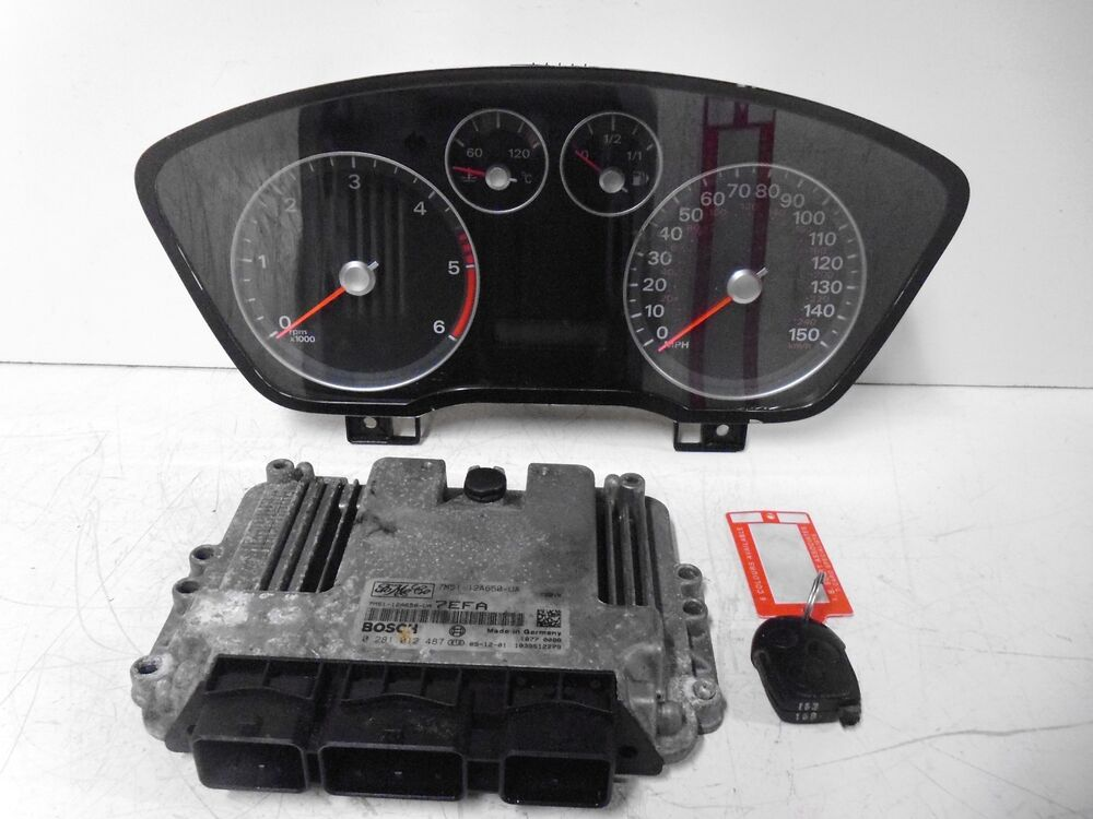 ford focus  diesel ecu clock set pcm module chip
