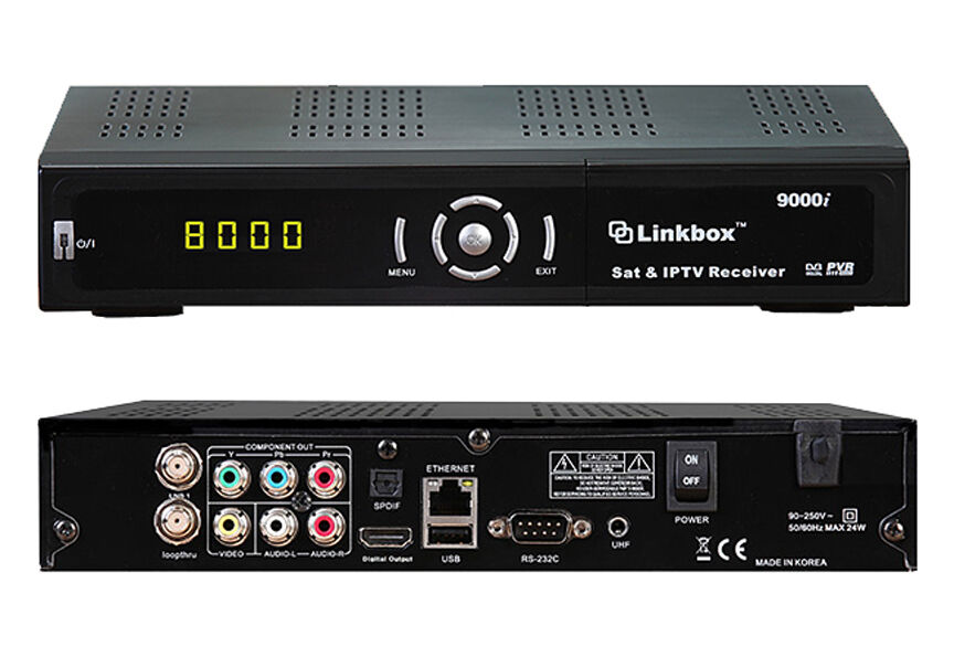 new linkbox 9000i hd fta iptv pvr satellite receiver usa authorized dealer ebay. Black Bedroom Furniture Sets. Home Design Ideas