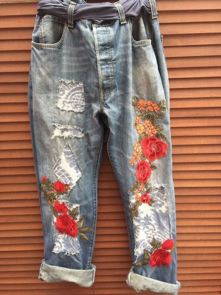 Osfm ritanotiara customised vintage levis jeans