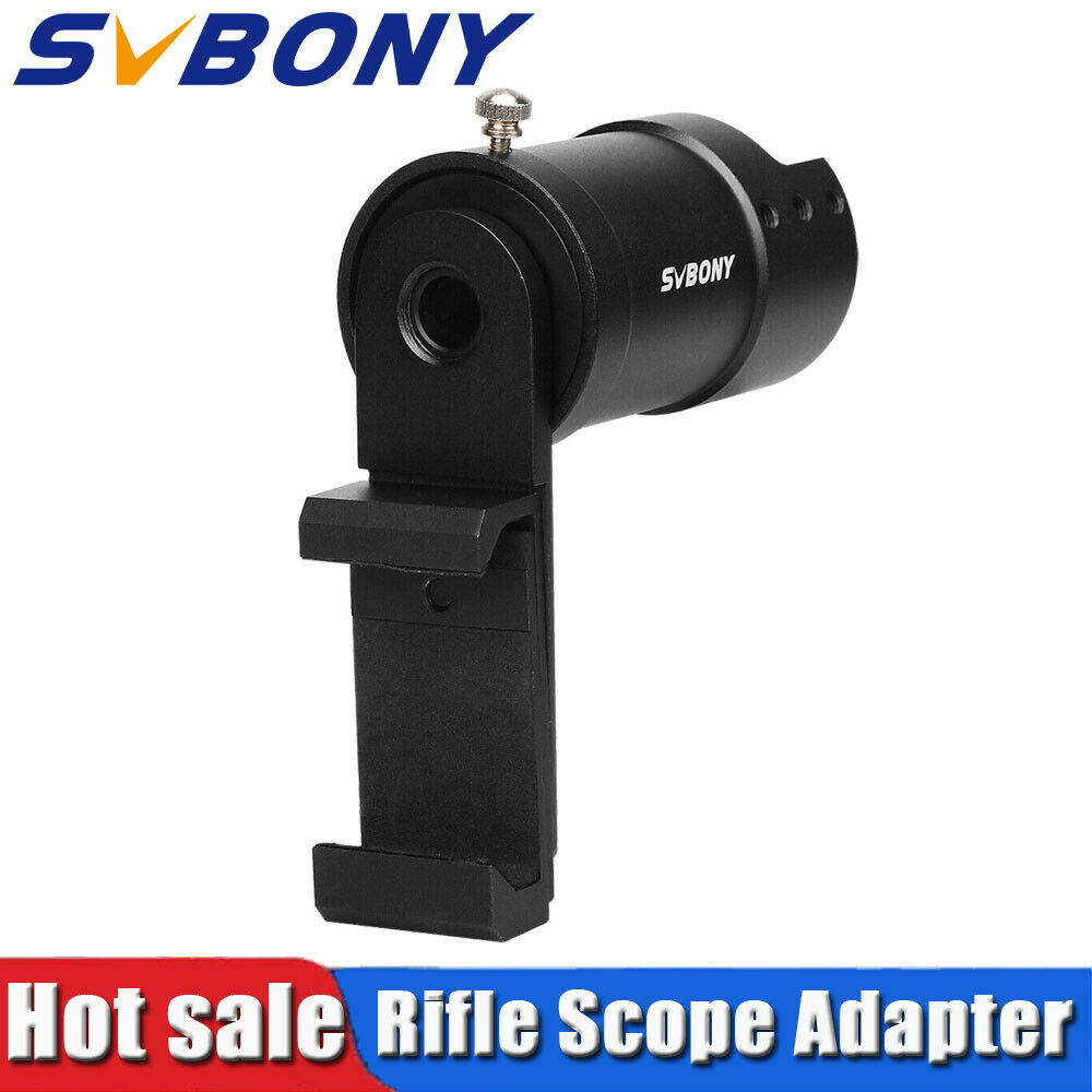 Oscilloscope With Camera Mount : Svbony rifle scope smartphone mount system adapter for