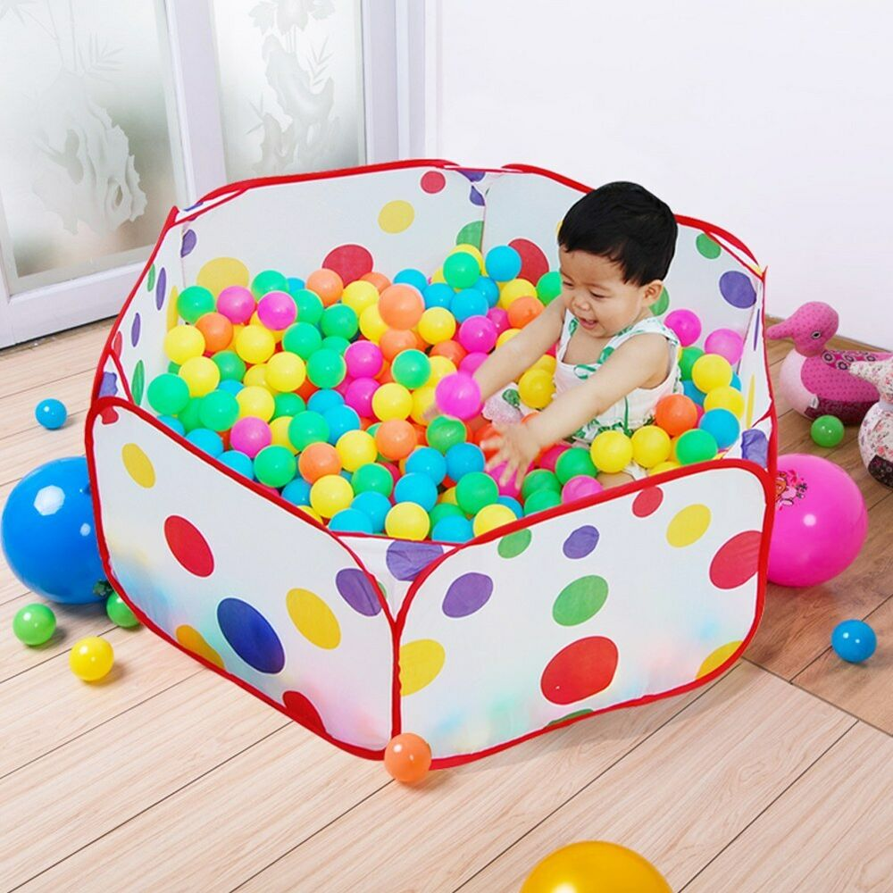 Ball Toys For Toddlers : Portable kids toy ocean ball pit pool indoor outdoor baby
