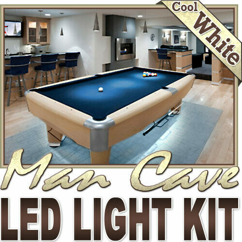 Man Cave Bar Pool Table LED Lighting Strip + Dimmer