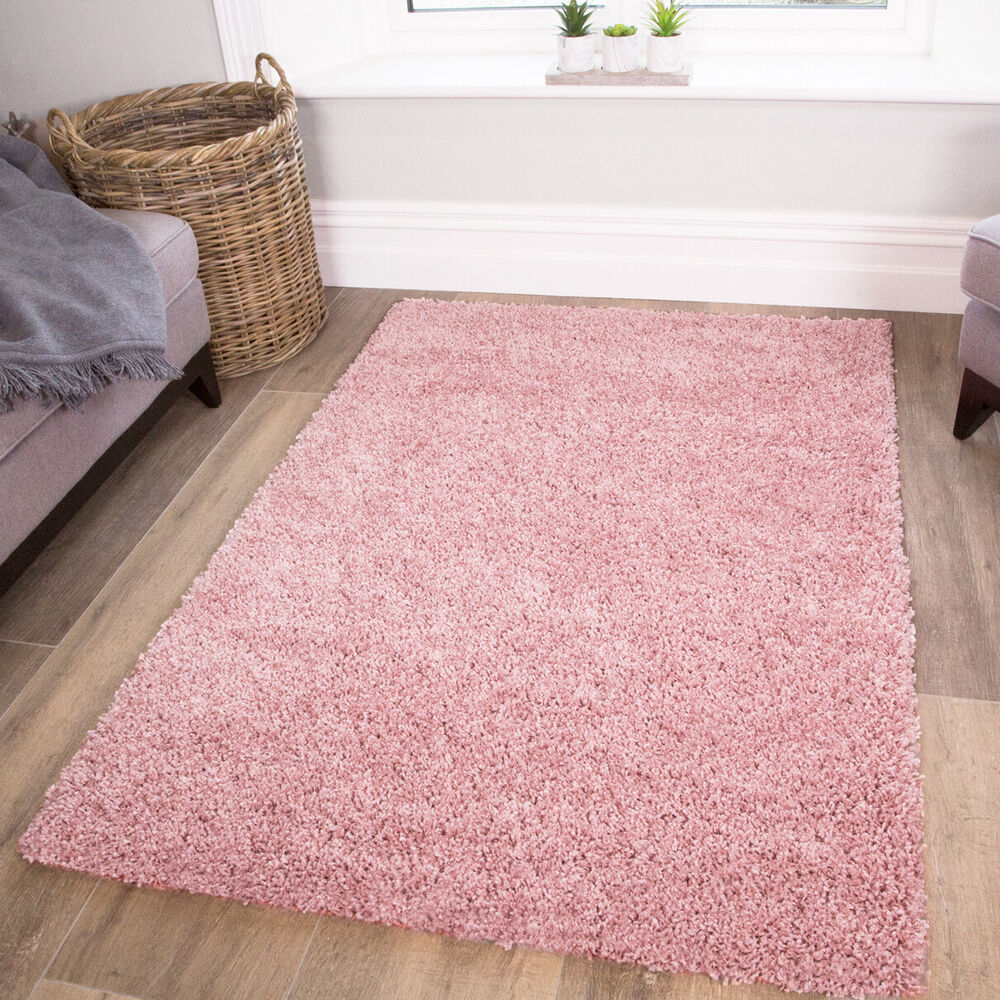 pink bedroom rug soft fluffy thick pink shaggy rugs baby pink shaggy 12847
