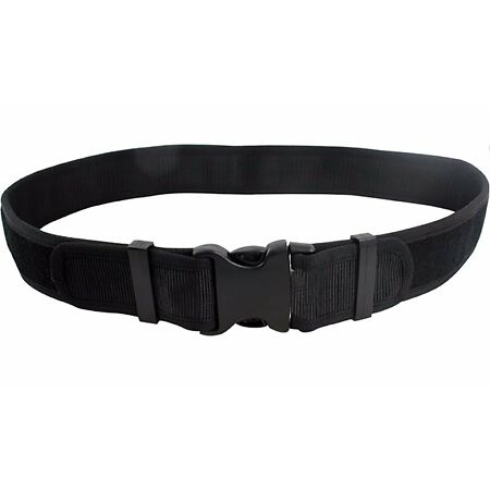 img-NEW Highlander Black Heavy Duty SECURITY BELT Utility Military Army Police Mens