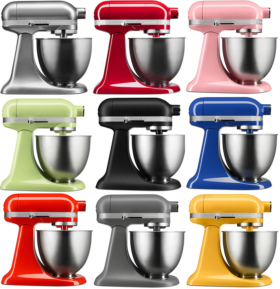 kitchenaid stand mixer tilt 3 5 qt rksm33xx artisan mini tilt choose many colors ebay. Black Bedroom Furniture Sets. Home Design Ideas