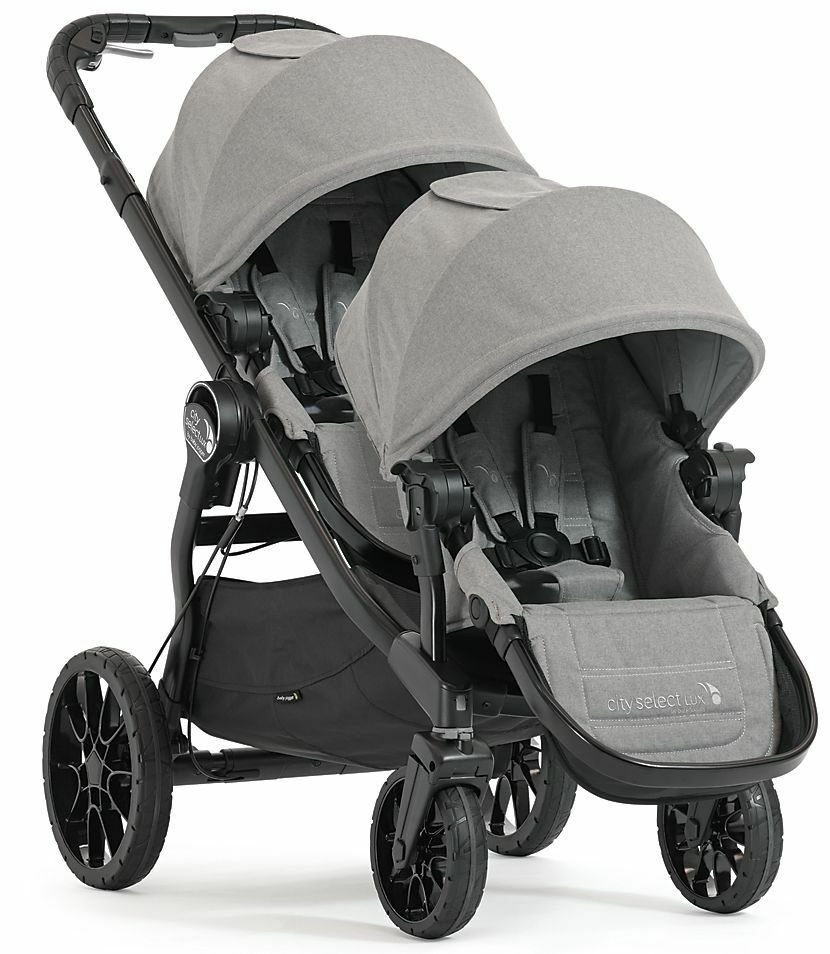 Baby Jogger City Select Lux Twin Tandem Double Stroller w ...