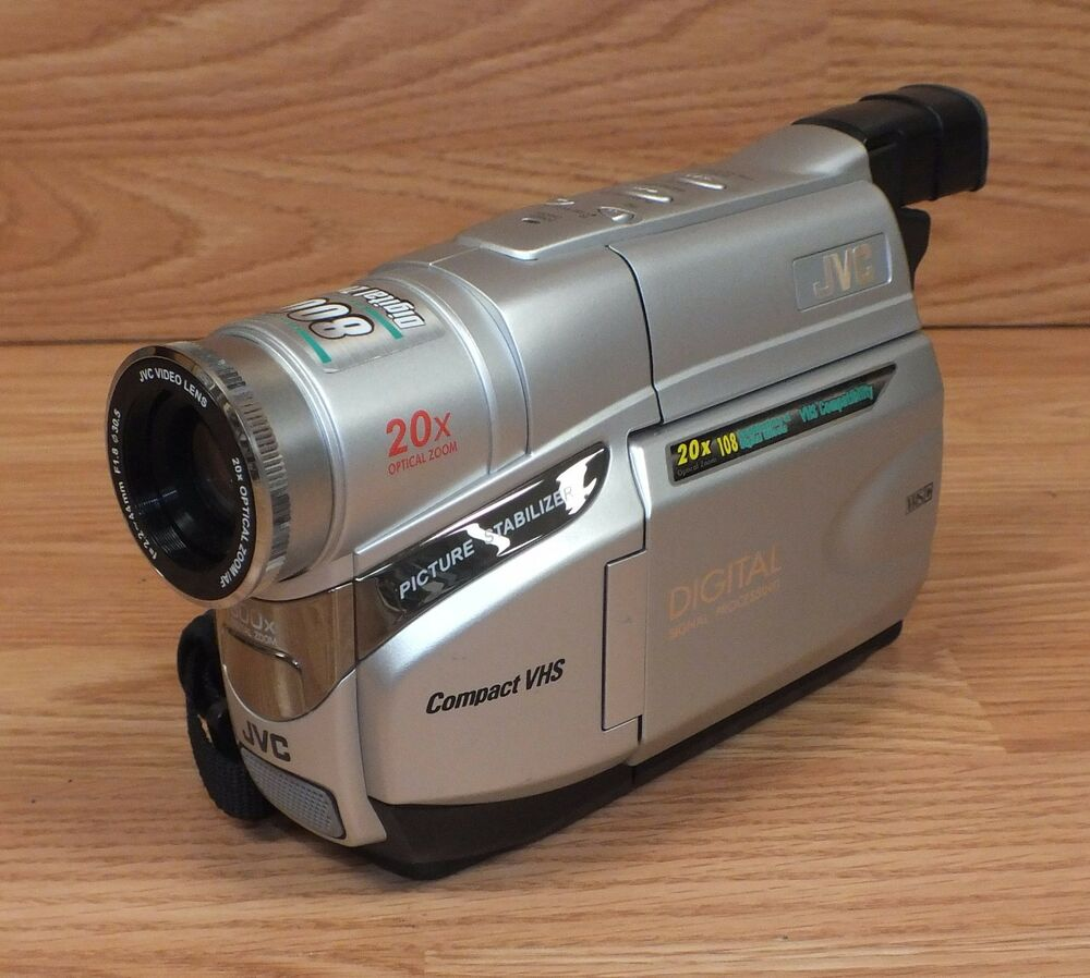 *FOR PARTS* JVC (GR-AXM17U) Compact VHS 20x Optical Zoom Camcorder Only  **READ** | eBay
