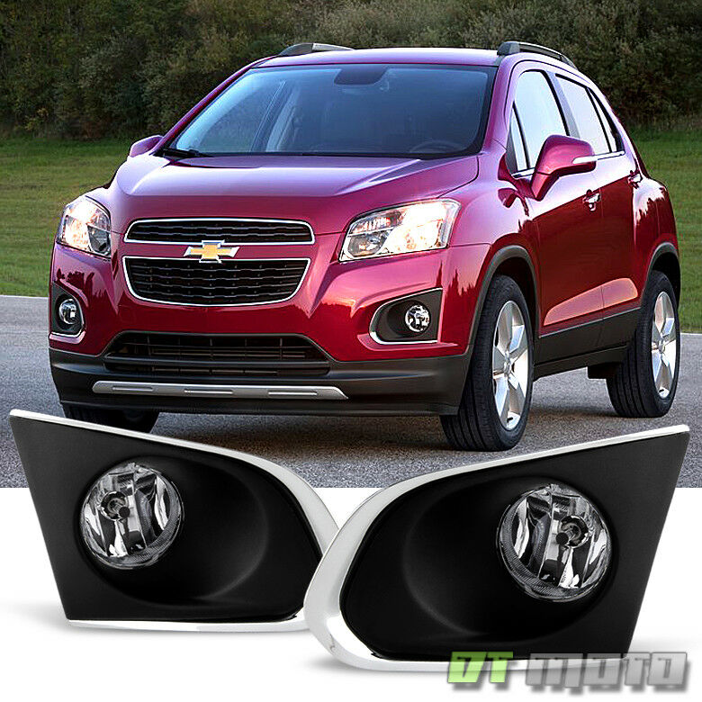 2015-2016 Chevy Trax Bumper Driving Fog Lights Lamps