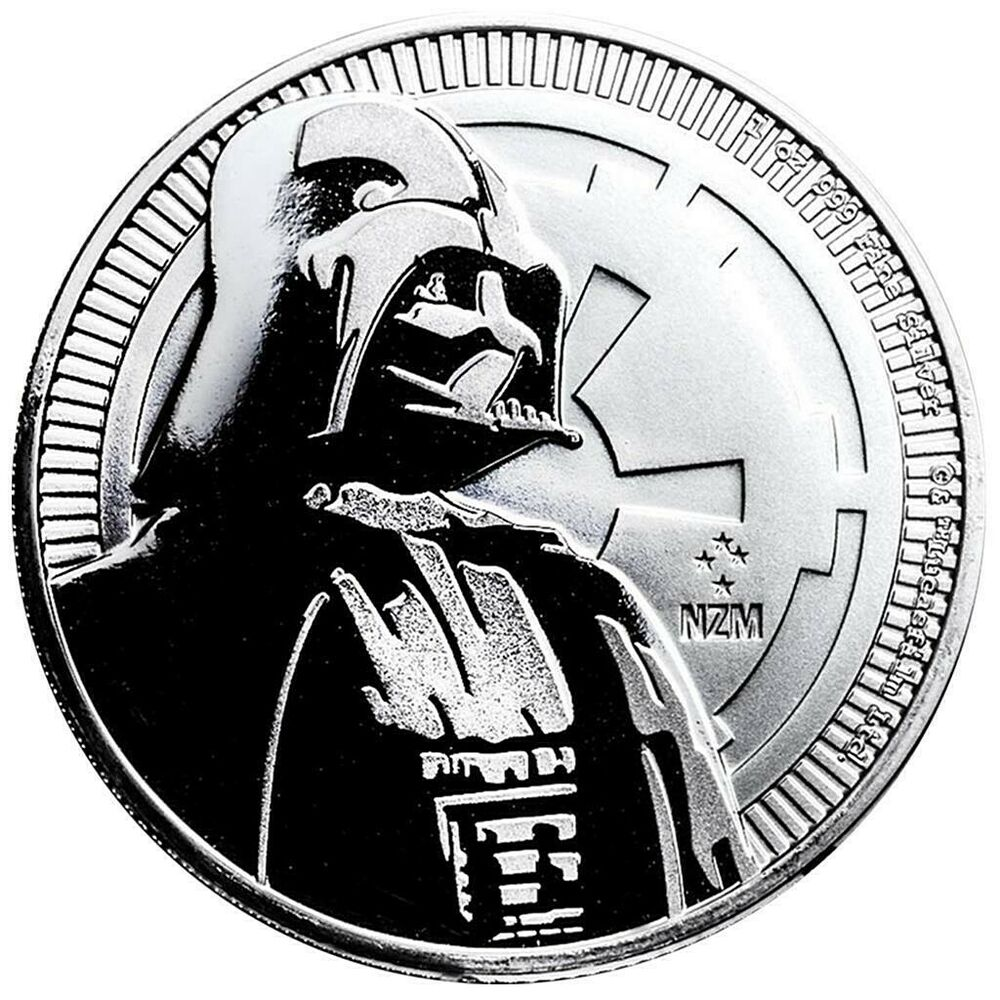Niue 2 Dollar 2017 Darth Vader Star Wars Anlagemünze 1