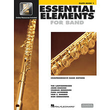 Essential Elements for Band Flute Book 1 Beginner Music Lessons & Online Media