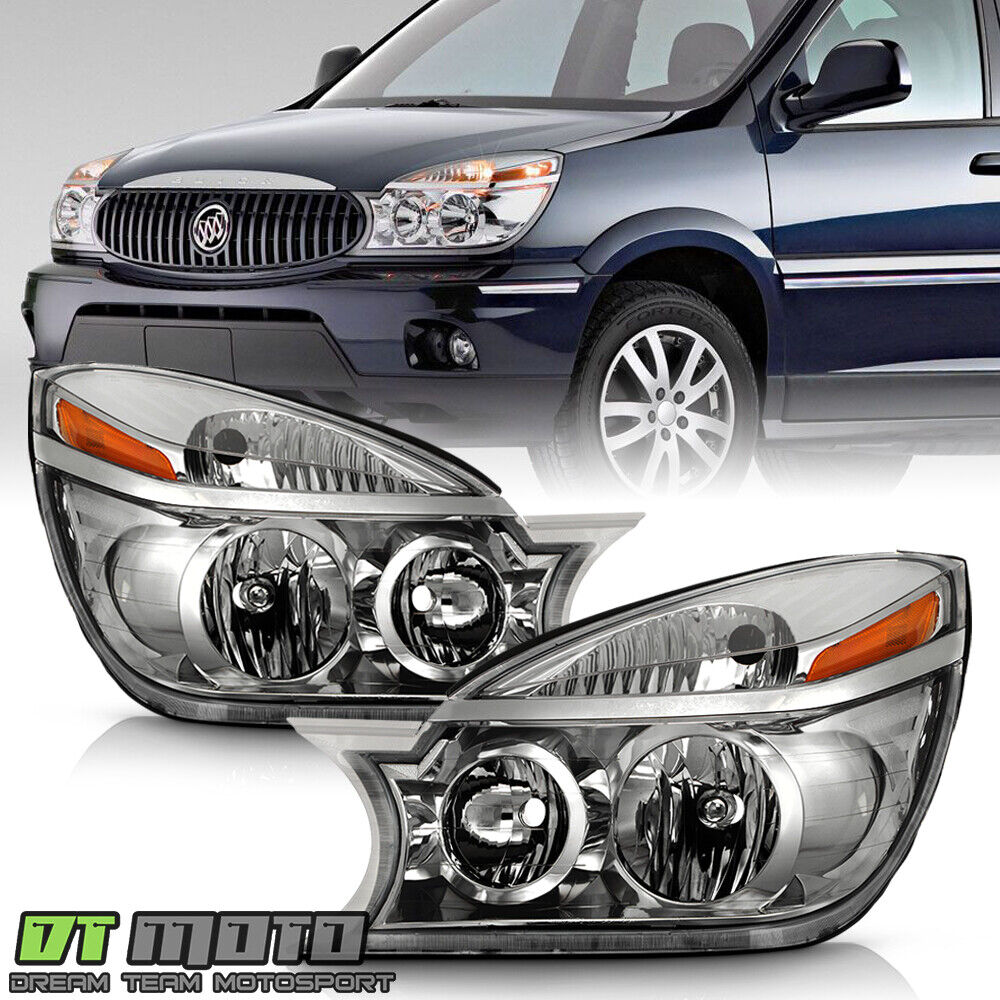 2002 2007 buick rendezvous headlights headlamps. Black Bedroom Furniture Sets. Home Design Ideas