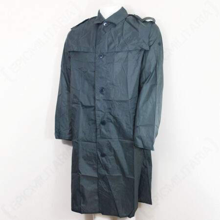 img-Original Swiss Raincoat - Surplus Grey Rain Coat Jacket Long Military All Sizes