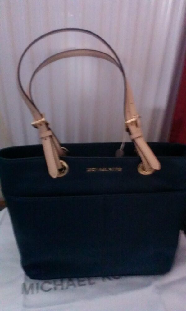 michael kors tasche leder neu blau neu ebay. Black Bedroom Furniture Sets. Home Design Ideas