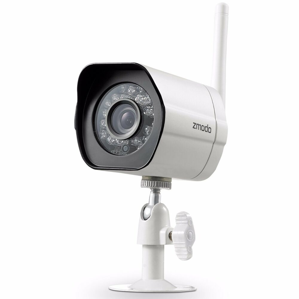 Exterior Home Security Cameras: Zmodo 1280*720p HD IP Wireless Network IR Outdoor Indoor