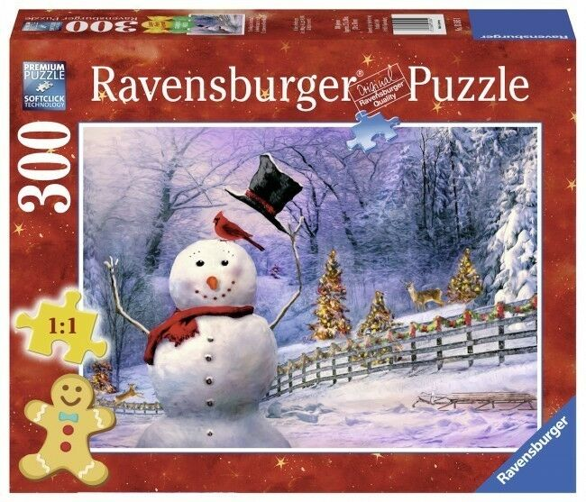 ravensburger christmas puzzle 300 teile the magical. Black Bedroom Furniture Sets. Home Design Ideas